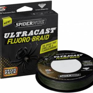 Linha Spider Ultracast Fluoro Braid 270mt/0,45mm