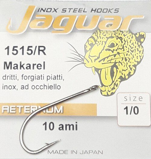 Anzol Makarel 1515/R Jaguar 2/0