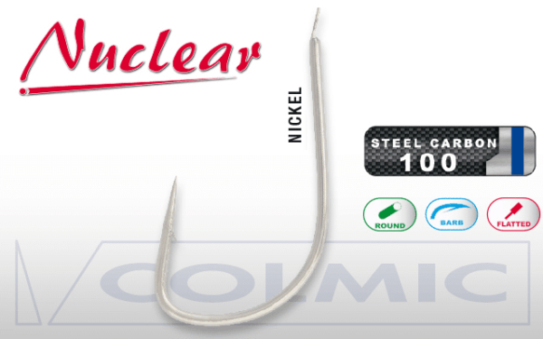 Anzol N600 Nuclear Size 12 20pçs.
