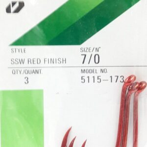Anzol SSW Red Finish 7/0 Owner