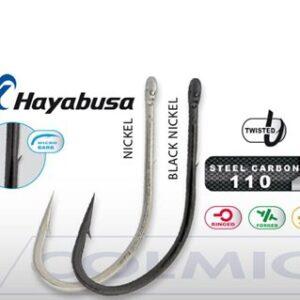 Anzol HMRS176 Hayabusa Size 4 black nickel