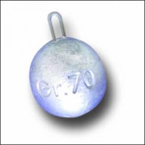 Chumbo Esfera 175gr Fonderia Roma