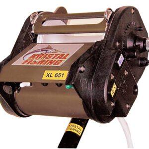 Carretilha Kristal fishing elétrica, XL 651 Profundo, Gota carretéis da pesca