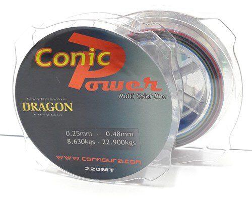 Linha Conica Power Dragon 0.20mm-0.48mm