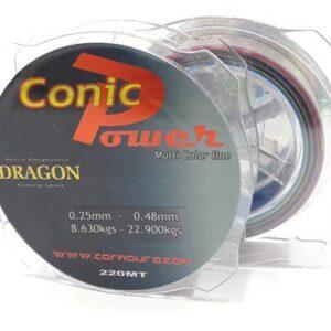 Linha Conica Power Dragon 0.16mm-0.48mm