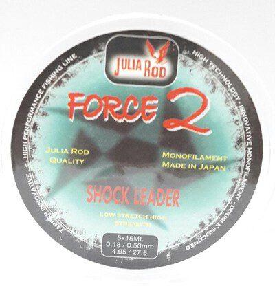 FORCE 2 SURF CASTING LINHA CÔNICA 0.20/0.50mm