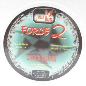 FORCE 2 SURF CASTING LINHA CÔNICA 0.23/0.50mm