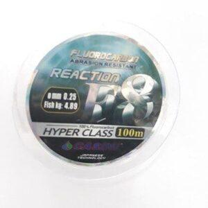 Fluorocarbon F8 Reaction 0.25mm 100mt