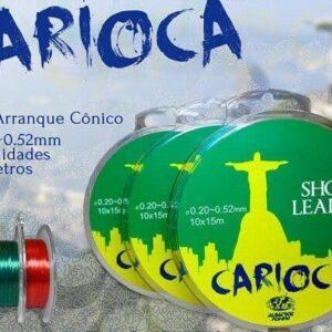 Linha de pesca Carioca 0.20-0.52mm transparente