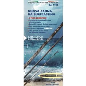 Nova Cana de Surfcasting Nebula Veret 4.30 170g