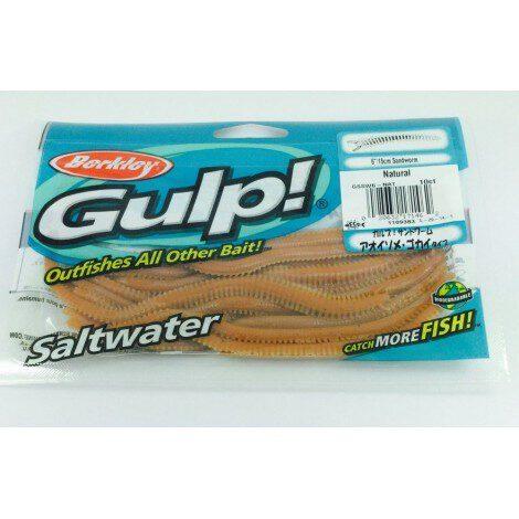 """Isca Gulp Berkley 6""""15cm Sandworm"""