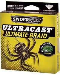 Linha Spider Ultracast Ultimate Braid 110mt/0,20mm