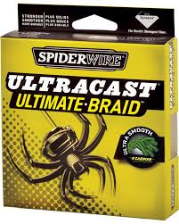 Linha Spider Ultracast Ultimate Braid 110mt/0,25mm